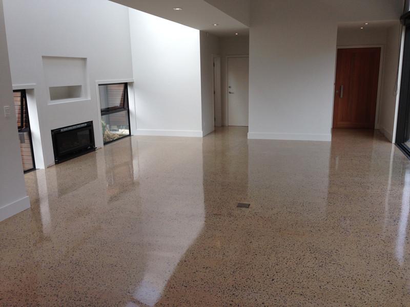 Polished concrete concrete floor grinding ltd for Polished concrete floors nz